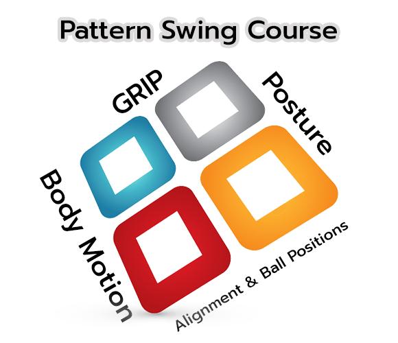 หลักสูตร pattern swing golf